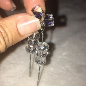 Authentic Swarovski Crystal earrings